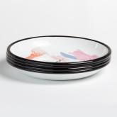 Pack of 4  Magic Plates  Ø26 cm, thumbnail image 1