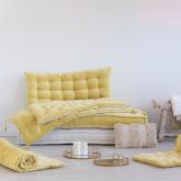 Double Cushion for Affy Velvet Modular Sofa, thumbnail image 4