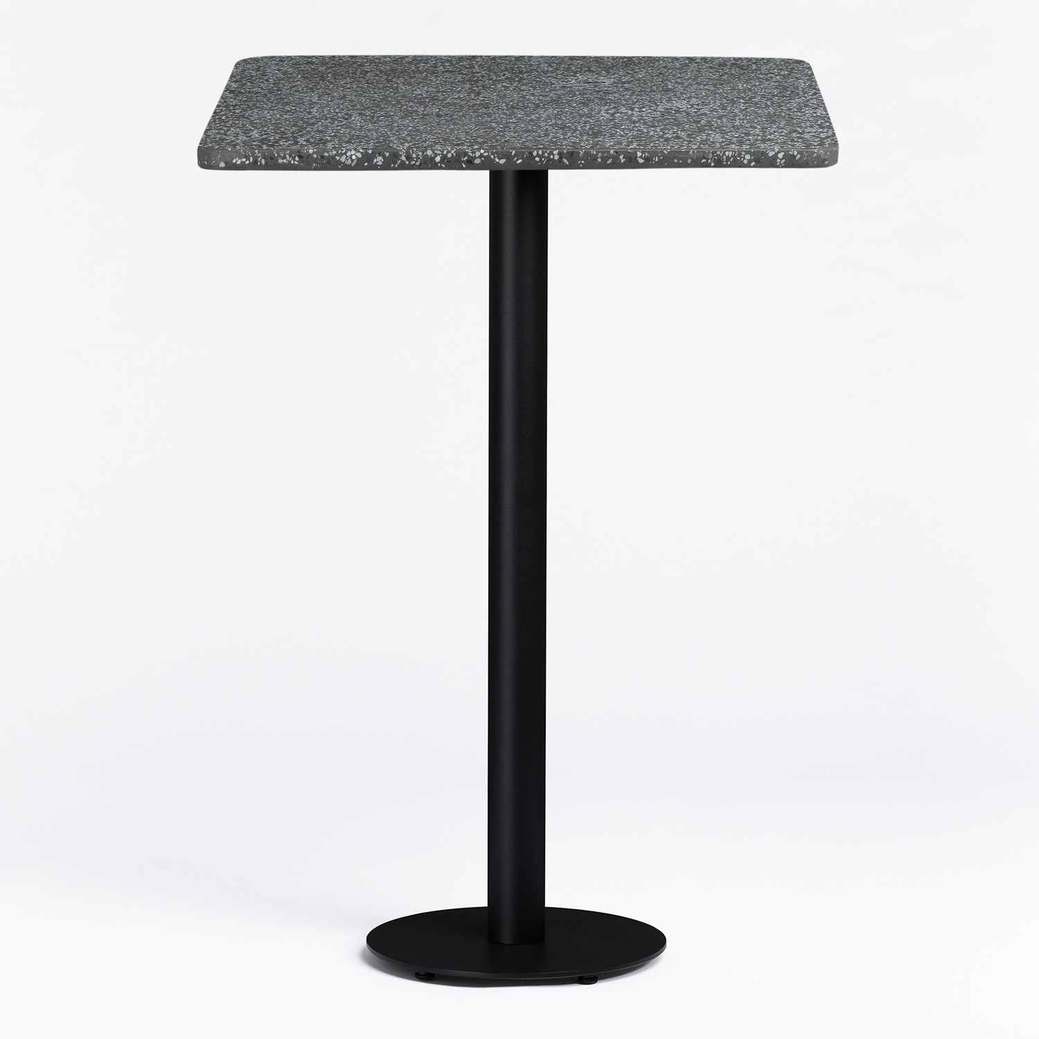 High Bar Table in Cement Terrazzo Finish Chack, gallery image 1