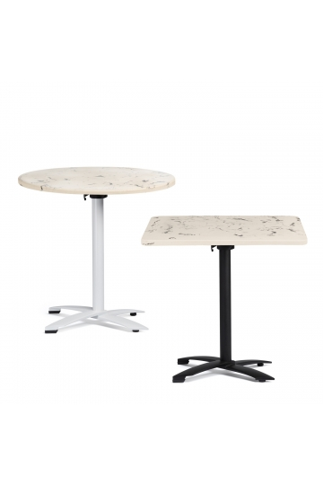 Bar Table in Cement Marble Finish Bruh