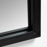 Rectangular Wall Mirror in Wood and Metal (60x95 cm) Ilme, thumbnail image 3
