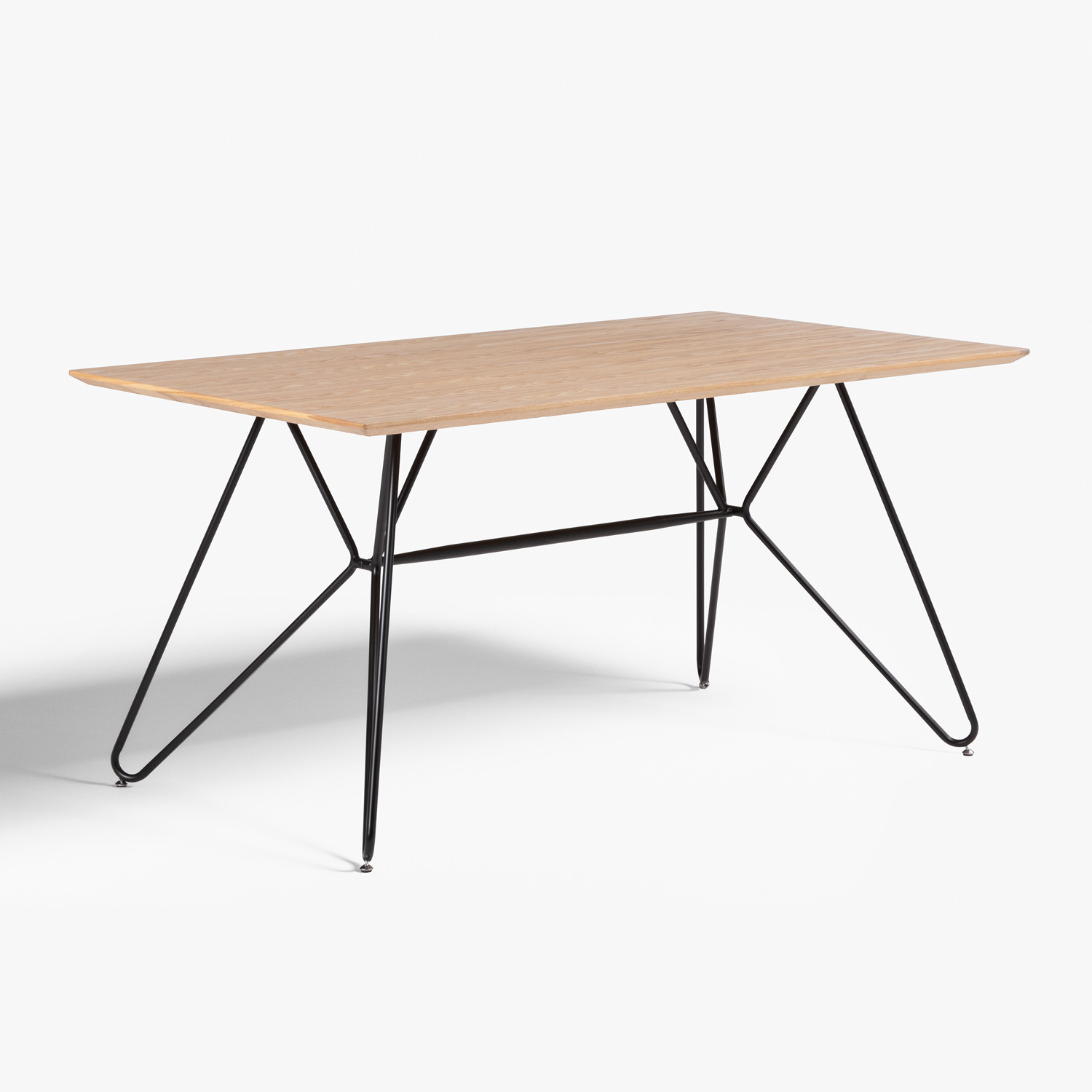 Rectangular Dining Table in MDF (150x90 cm) Allex, gallery image 654721