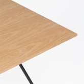 Rectangular Dining Table in MDF (150x90 cm) Allex, thumbnail image 654732