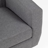 Fabric and Linen Armchair Bermy, thumbnail image 5