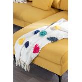Fest Plaid Blanket in Cotton, thumbnail image 1