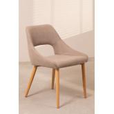 Luan Beech Wood Dining Chair, thumbnail image 1