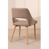 Luan Beech Wood Dining Chair, thumbnail image 3