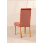 Pack of 2 Velvet Dining Chairs Cindy, thumbnail image 5