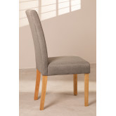 Pack of 2 Cindy Fabric Dining Chairs, thumbnail image 3