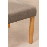 Pack of 2 Cindy Fabric Dining Chairs, thumbnail image 6