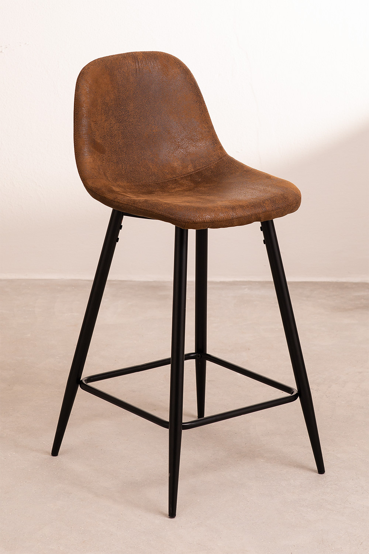Leatherette Glamm Stool, gallery image 1