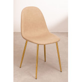 Glamm Leatherette Dining Chair, thumbnail image 1