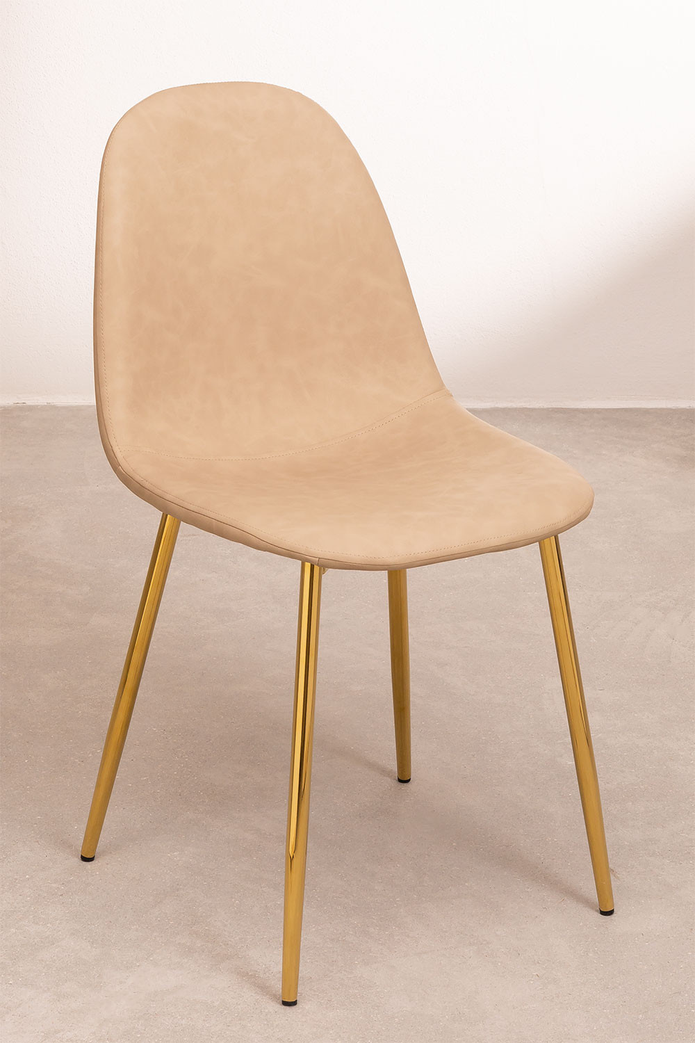Glamm Leatherette Dining Chair, gallery image 1