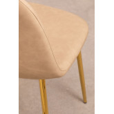 Glamm Leatherette Dining Chair, thumbnail image 4