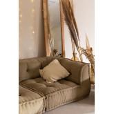 Corner  Modular Sofa in Cotton Dhel, thumbnail image 1