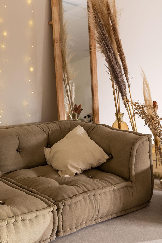 Corner  Modular Sofa in Cotton Dhel, gallery image 1