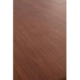 Rectangular Dining Table in Walnut Wood (160x90 cm) Thara, thumbnail image 732384