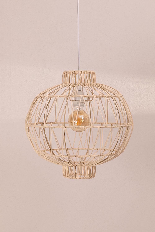Ceiling Lamp in Rattan (Ø40 cm) Guba, gallery image 1