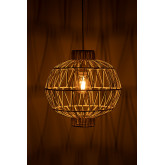 Ceiling Lamp in Rattan (Ø40 cm) Guba, thumbnail image 3