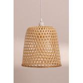 Ceiling Lamp in Rattan (Ø30 cm) Kalde, thumbnail image 3