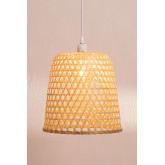 Ceiling Lamp in Rattan (Ø30 cm) Kalde, thumbnail image 4