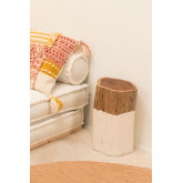 Auxiliary Table Tronk Wooden Stool, thumbnail image 1