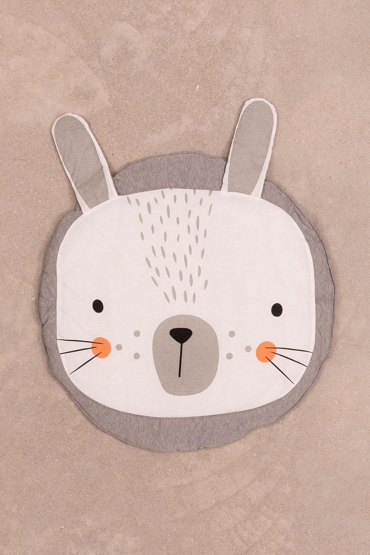 Round Cotton Rug (Ø90 cm) Jef Kids, gallery image 1