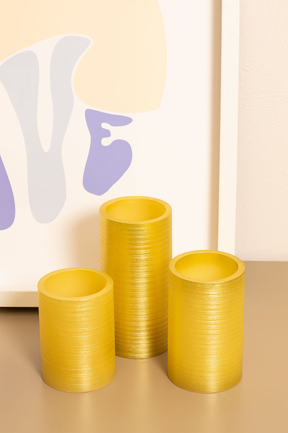 Golden Dhels Candles, gallery image 1