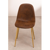 PACK 2 Glamm Leatherette Chairs, thumbnail image 3