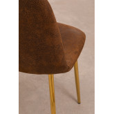 PACK 2 Glamm Leatherette Chairs, thumbnail image 4
