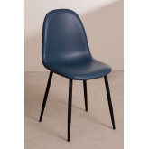 PACK of 4 Glamm Leatherette Chairs , thumbnail image 1