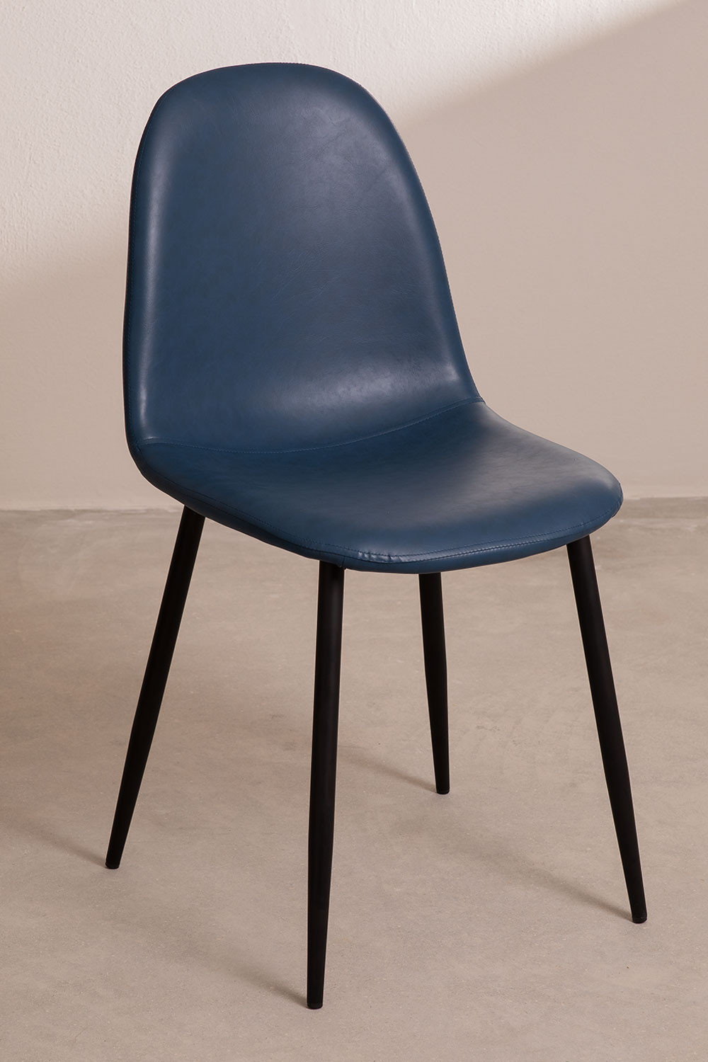 PACK of 4 Glamm Leatherette Chairs , gallery image 1
