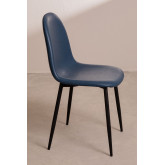 PACK of 4 Glamm Leatherette Chairs , thumbnail image 2
