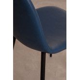 PACK of 4 Glamm Leatherette Chairs , thumbnail image 3