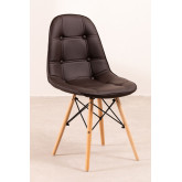 Upholstered Leather Dining Chair at Capitoné Scand, thumbnail image 741715