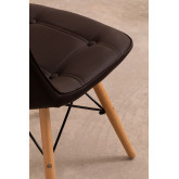 Upholstered Leather Dining Chair at Capitoné Scand, thumbnail image 741730