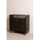 Wooden Chest of Drawers Warce, thumbnail image 1