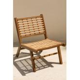 Ayat Garden Chair in Synthetic Wicker , thumbnail image 2
