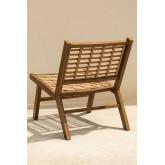 Ayat Garden Chair in Synthetic Wicker , thumbnail image 5