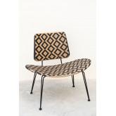 Corvik Synthetic Wicker Garden Lounge Chair, thumbnail image 2