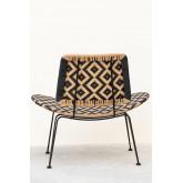 Corvik Synthetic Wicker Garden Lounge Chair, thumbnail image 4