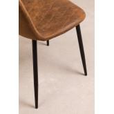 Glamm Diamond Leatherette Chair, thumbnail image 4