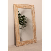 Rectangular Wall Mirror in Wood (120x80 cm) Vuipo, thumbnail image 2