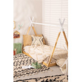 Wooden Bed for Mattress 90 cm Typi Kids, thumbnail image 1