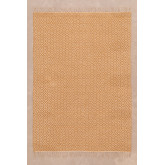 Cotton and Jute Rug (175x120 cm) Durat, thumbnail image 1