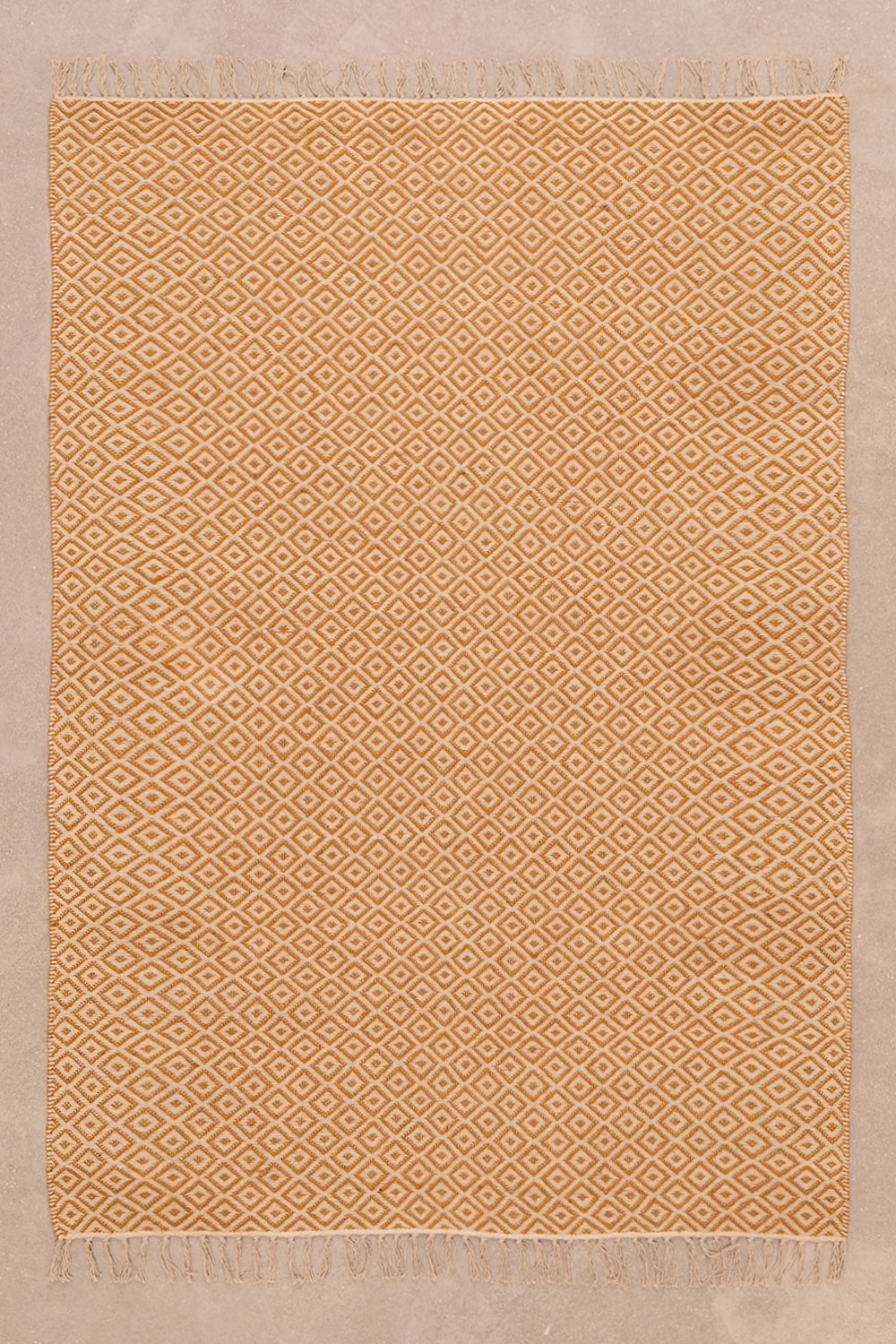 Cotton and Jute Rug (175x120 cm) Durat, gallery image 1