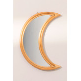 Rattan Wall Mirror (50.5x36.5 cm) Onell, thumbnail image 2