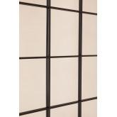 Wall Mirror in Metal Window Effect (122x122 cm) Sofi, thumbnail image 4