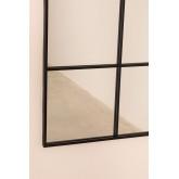 Wall Mirror in Metal Window Effect (122x122 cm) Sofi, thumbnail image 5