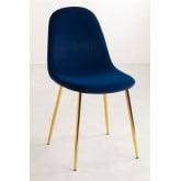 Glamm Velvet Chair , thumbnail image 2